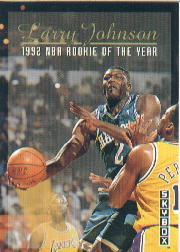 1992-93 SkyBox #319 Larry Johnson ART/Dikembe Mutombo