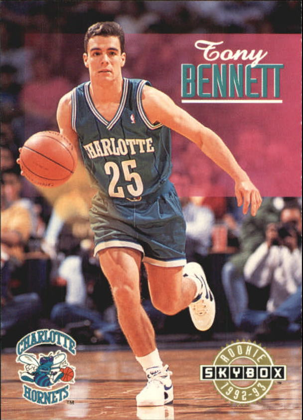 1992-93 SkyBox #335 Tony Bennett SP RC