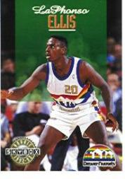 1992-93 SkyBox #336 LaPhonso Ellis SP RC