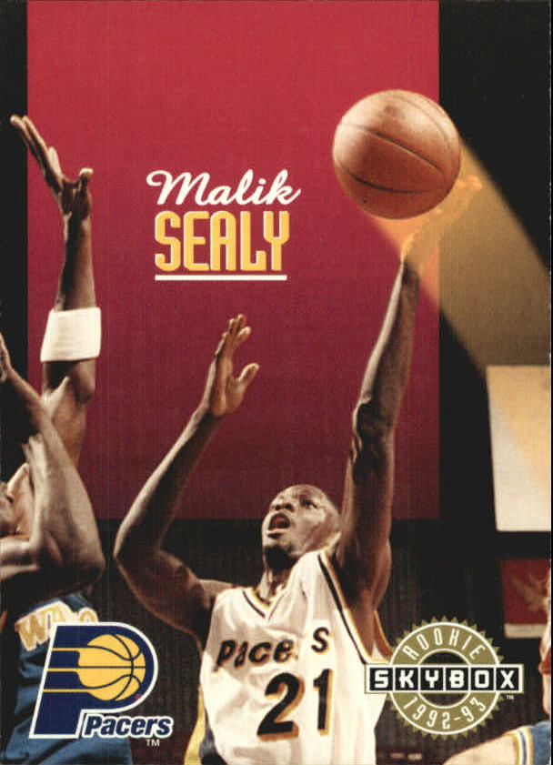 1992-93 SkyBox #349 Malik Sealy SP RC