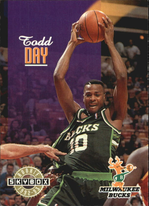 1992-93 SkyBox #363 Todd Day SP RC