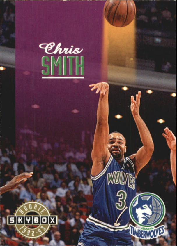 1992-93 SkyBox #371 Chris Smith SP RC