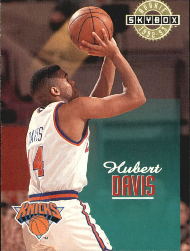 1992-93 SkyBox #375 Hubert Davis SP RC