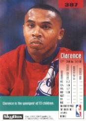 1992-93 SkyBox #387 Clarence Weatherspoon SP RC