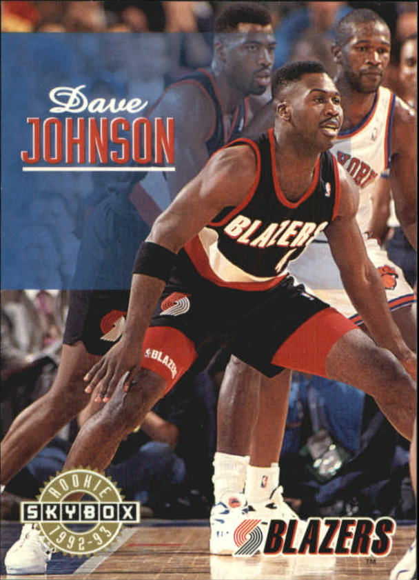 1992-93 SkyBox #392 Dave Johnson SP RC