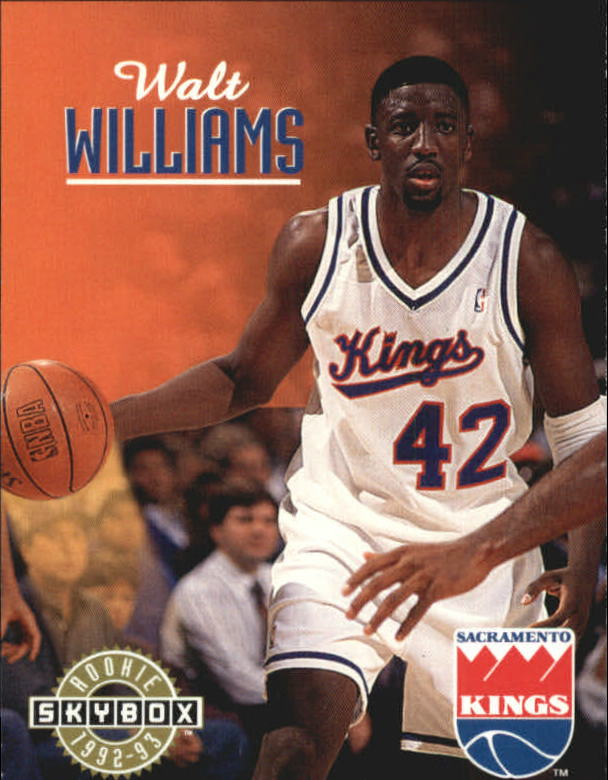 1992-93 SkyBox #396 Walt Williams SP RC