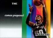 1992-93 SkyBox #NNO David Robinson/The Admiral Comes Prepared Gold