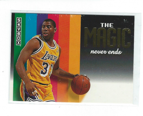 1992-93 SkyBox #NNO Magic Johnson/The Magic Never Ends Gold