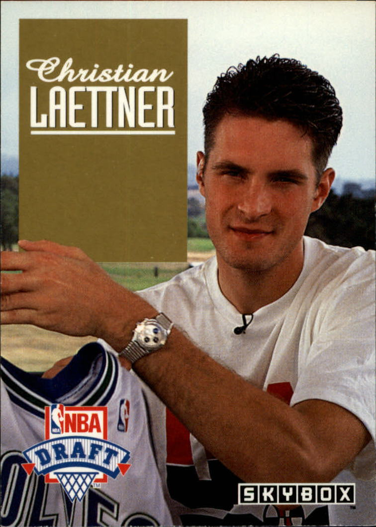 1992-93 SkyBox Draft Picks #DP3 Christian Laettner