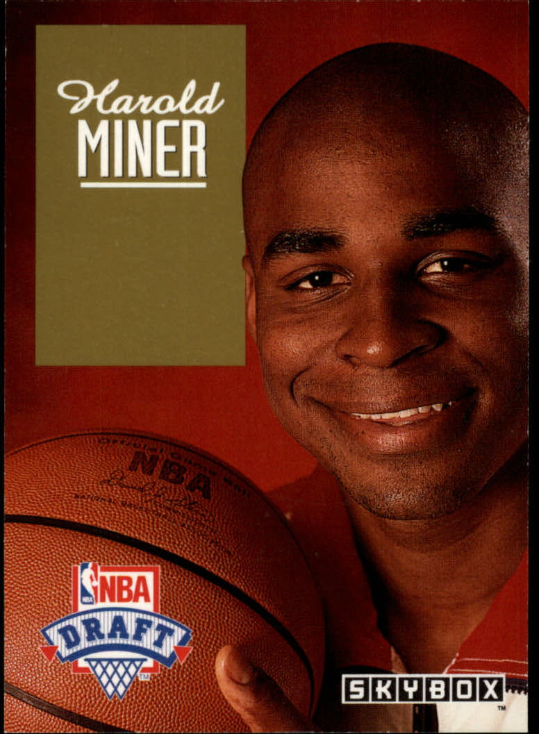 1992-93 SkyBox Draft Picks #DP12 Harold Miner