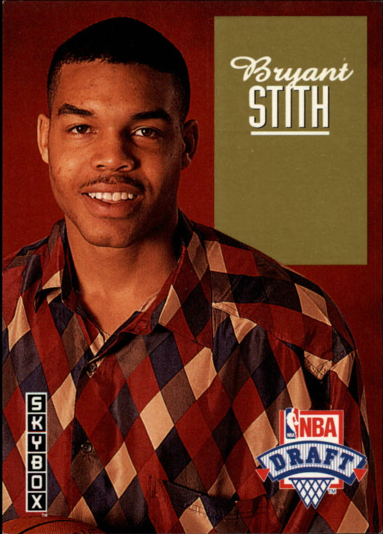 1992-93 SkyBox Draft Picks #DP13 Bryant Stith