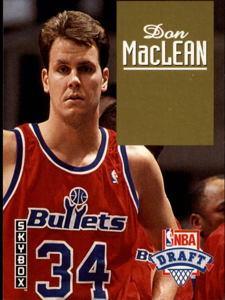 1992-93 SkyBox Draft Picks #DP19 Don MacLean