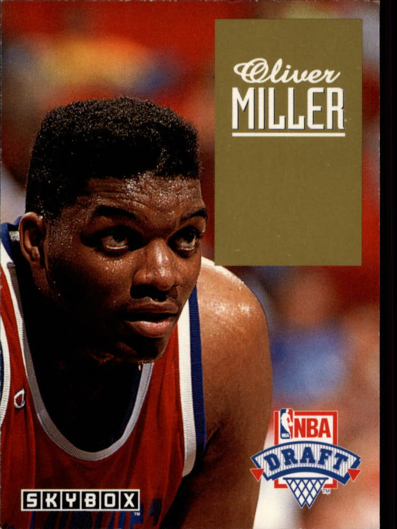 1992-93 SkyBox Draft Picks #DP22 Oliver Miller