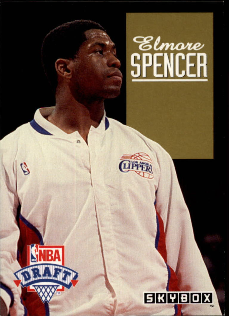 1992-93 SkyBox Draft Picks #DP25 Elmore Spencer