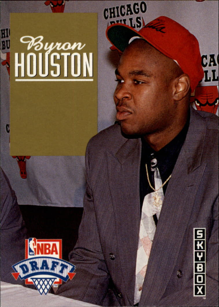 1992-93 SkyBox Draft Picks #DP27 Byron Houston