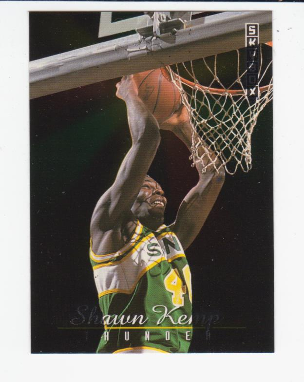 1992-93 SkyBox Thunder and Lightning #TL7 Shawn Kemp/Gary Payton