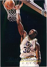1992-93 SkyBox Thunder and Lightning #TL8 Karl Malone/John Stockton