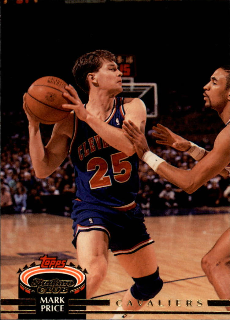 1992-93 Stadium Club #12 Mark Price