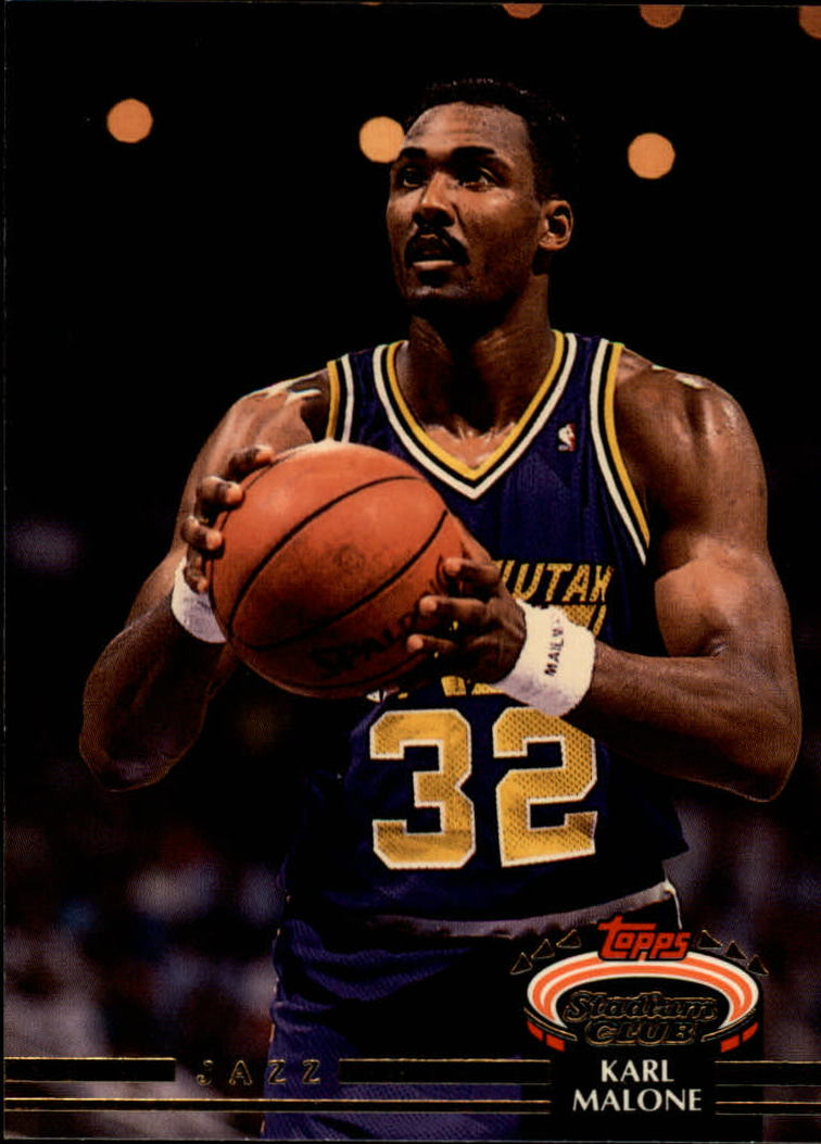 1992-93 Stadium Club #13 Karl Malone