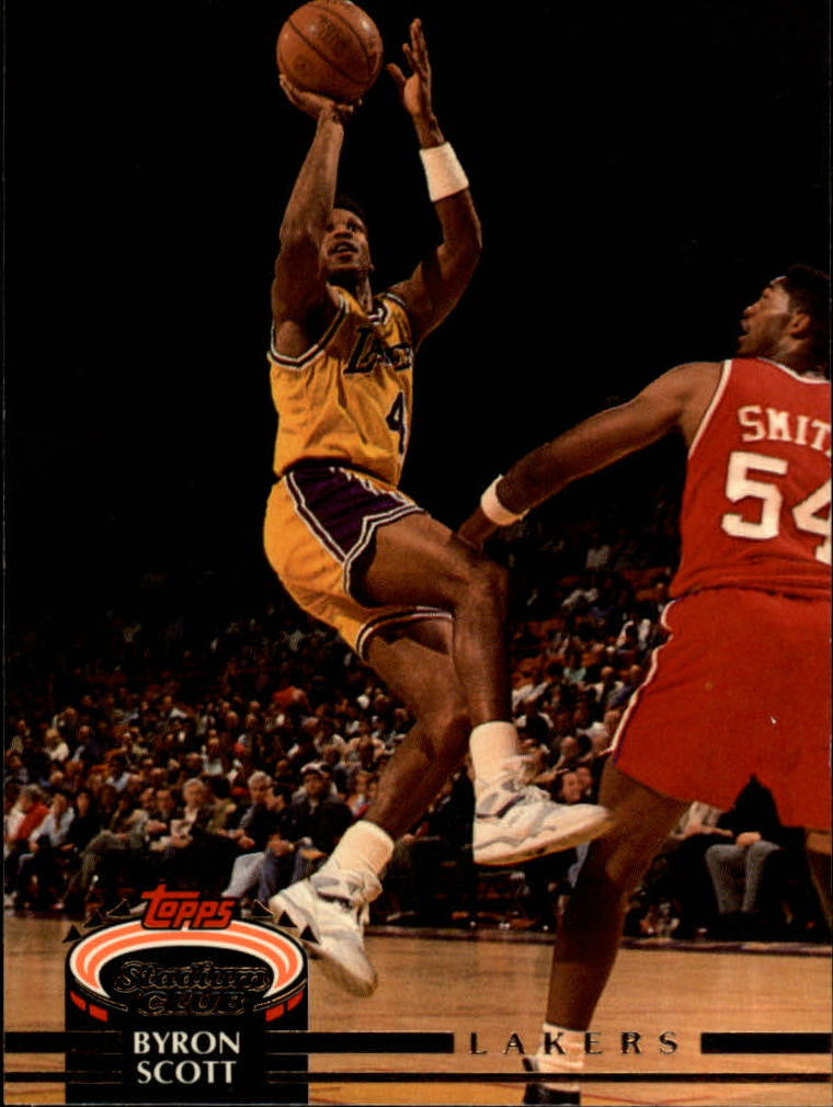 1992-93 Stadium Club #22 Byron Scott