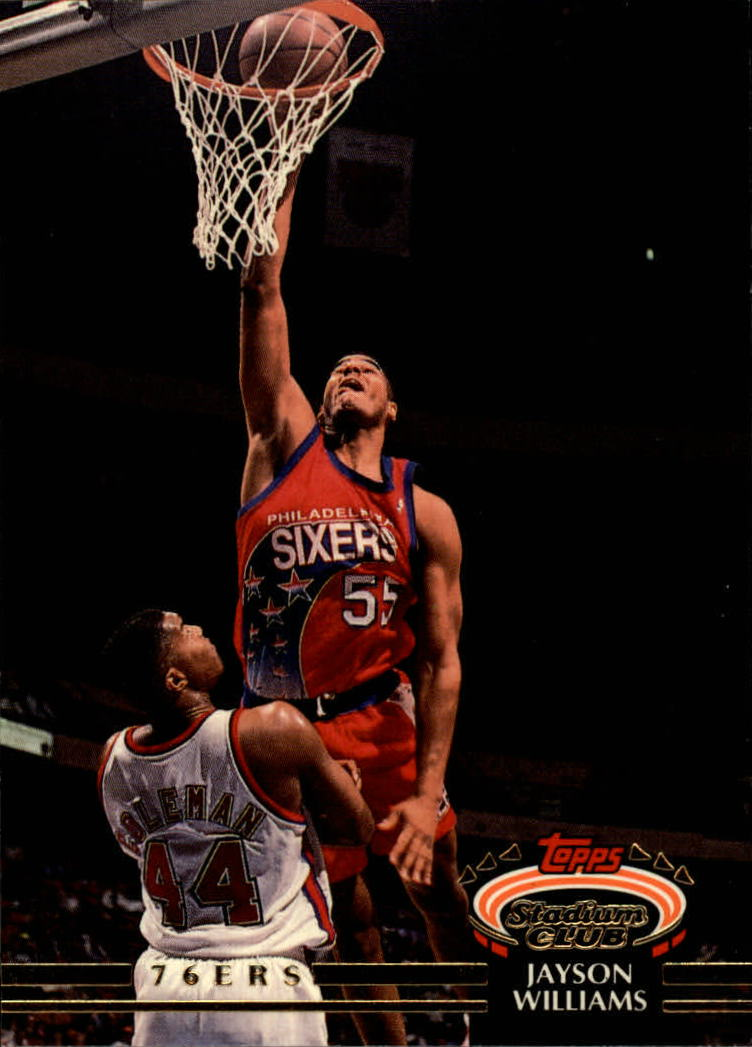 1992-93 Stadium Club #31 Jayson Williams