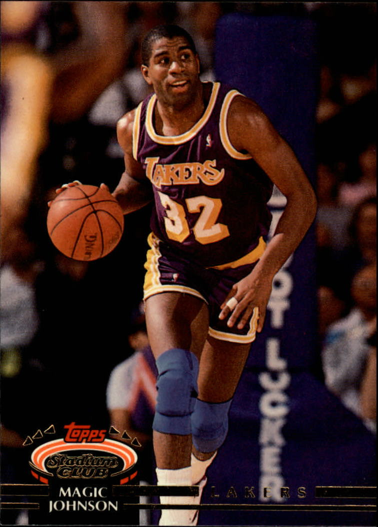 1992-93 Stadium Club #32 Magic Johnson