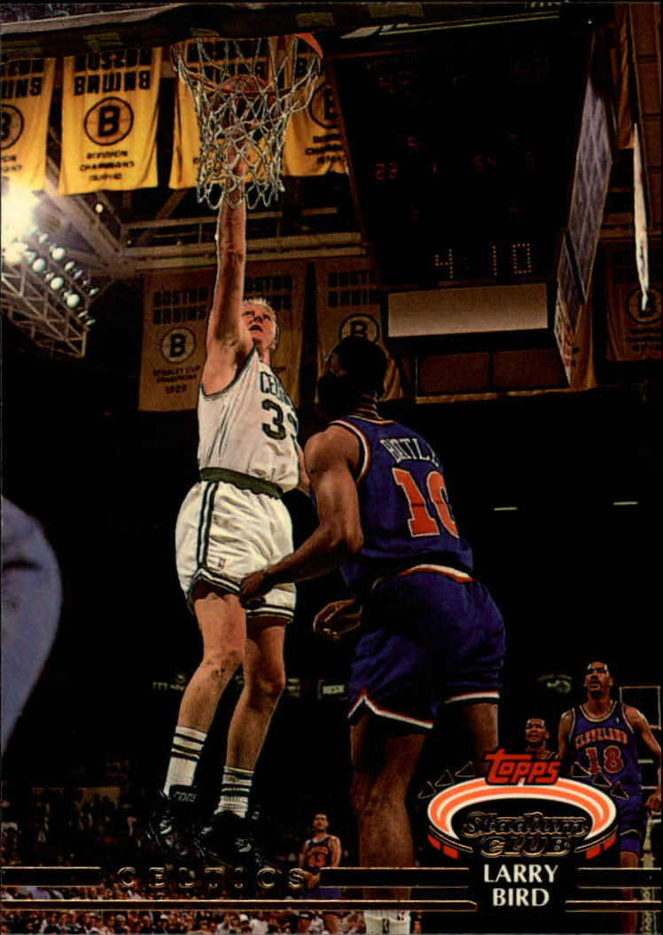 1992-93 Stadium Club #33 Larry Bird