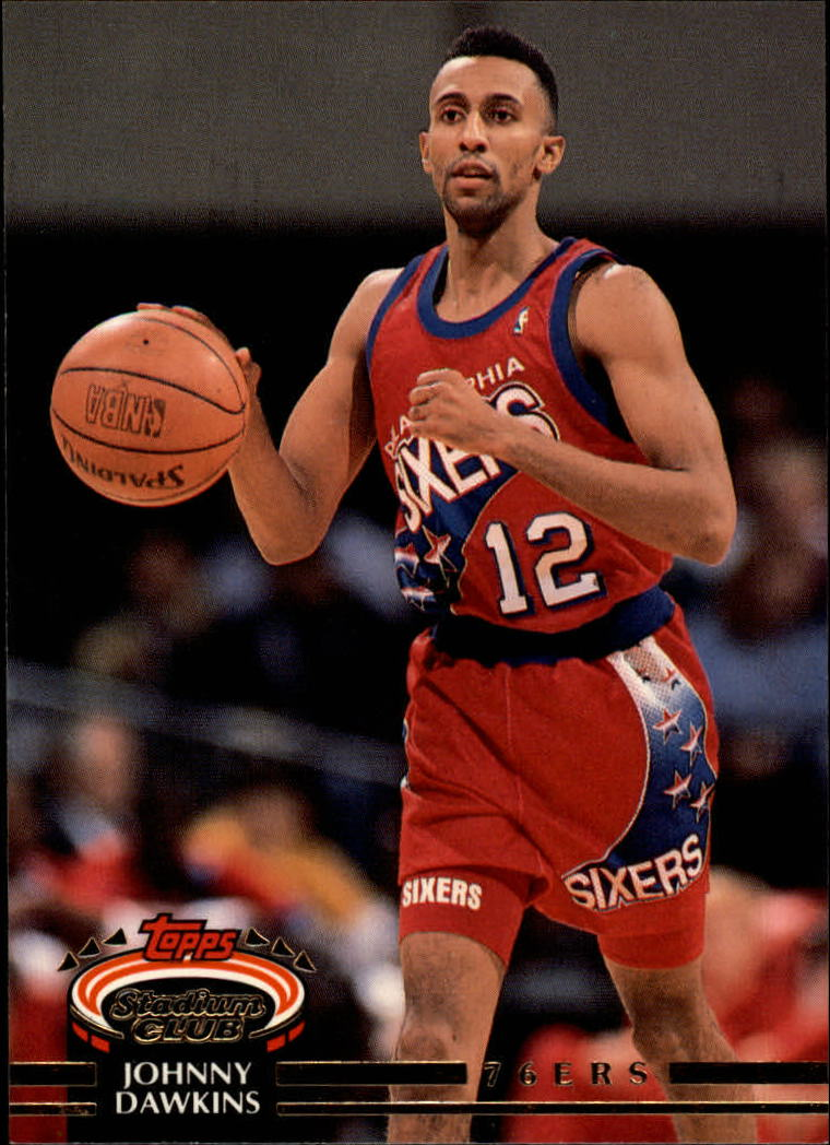 1992-93 Stadium Club #52 Johnny Dawkins