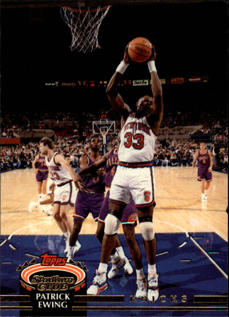 1992-93 Stadium Club #100 Patrick Ewing