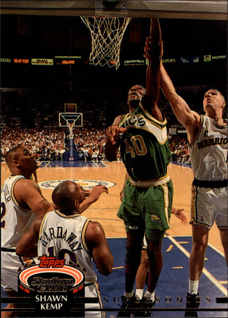 1992-93 Stadium Club #102 Shawn Kemp