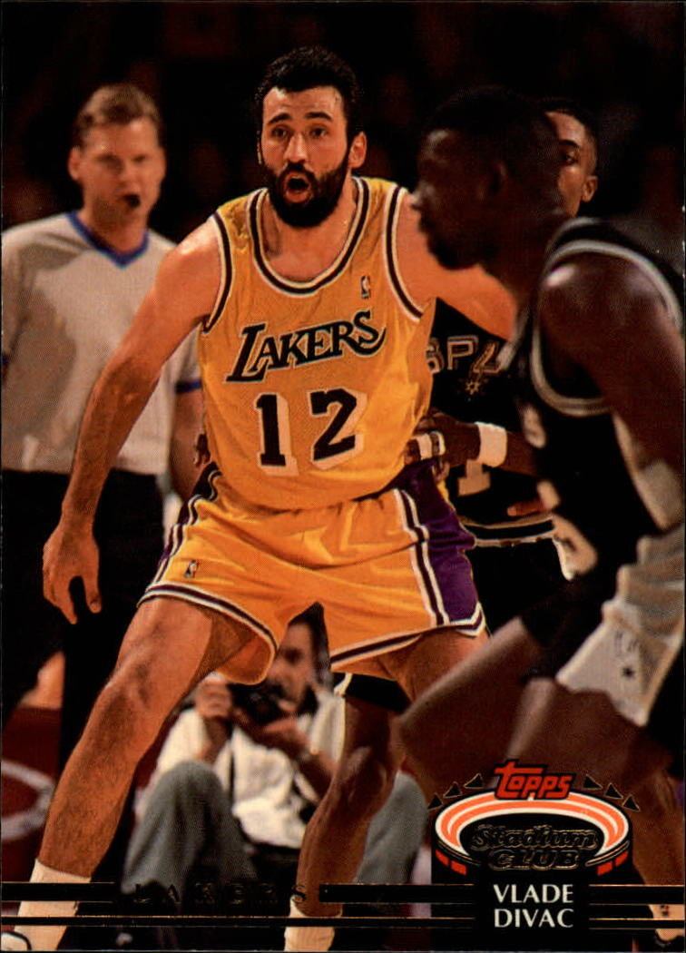 1992-93 Stadium Club #126 Vlade Divac