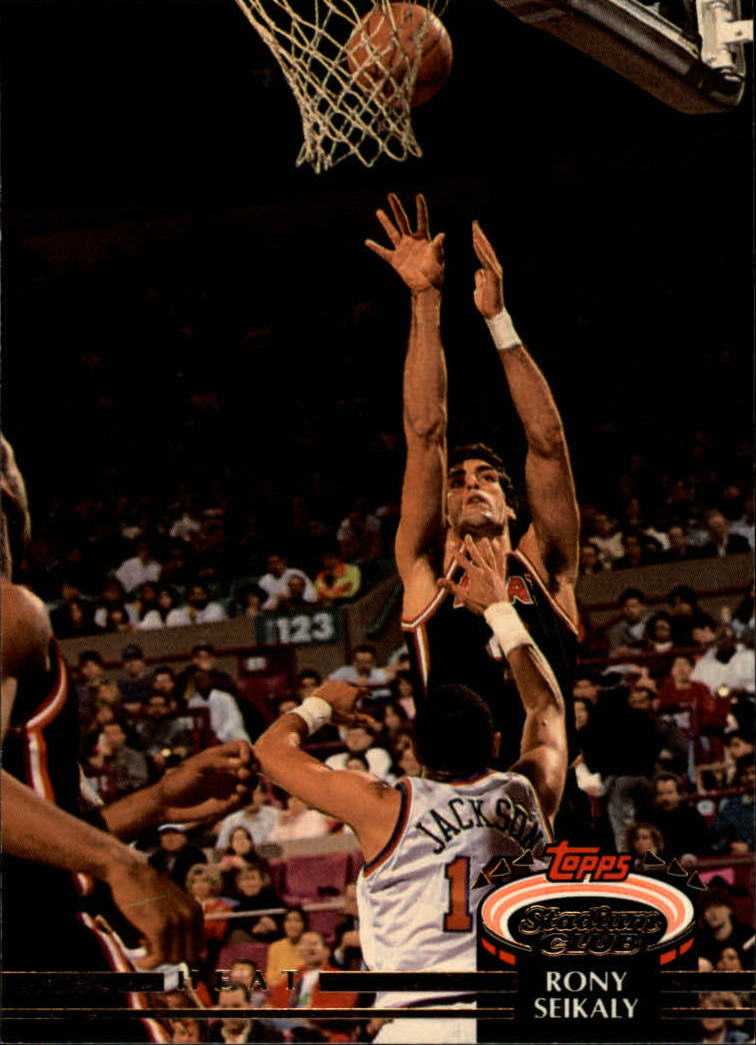 1992-93 Stadium Club #145 Rony Seikaly