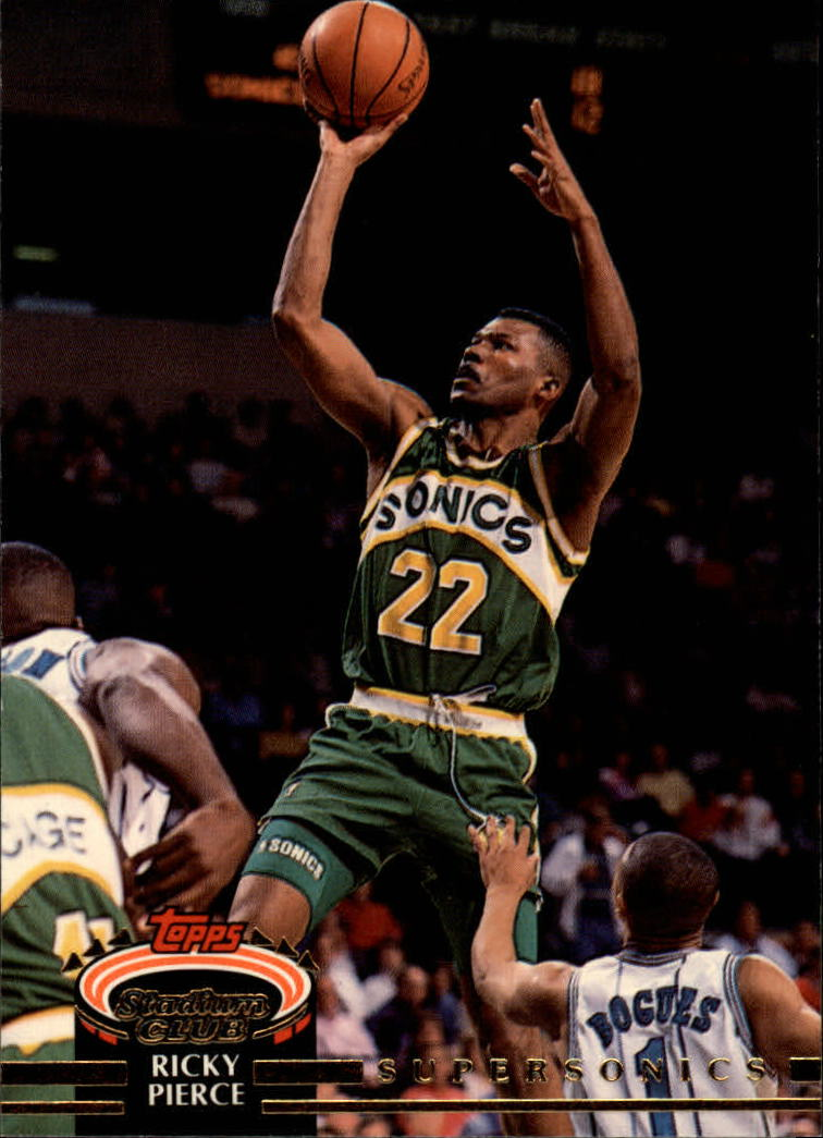 1992-93 Stadium Club #148 Ricky Pierce