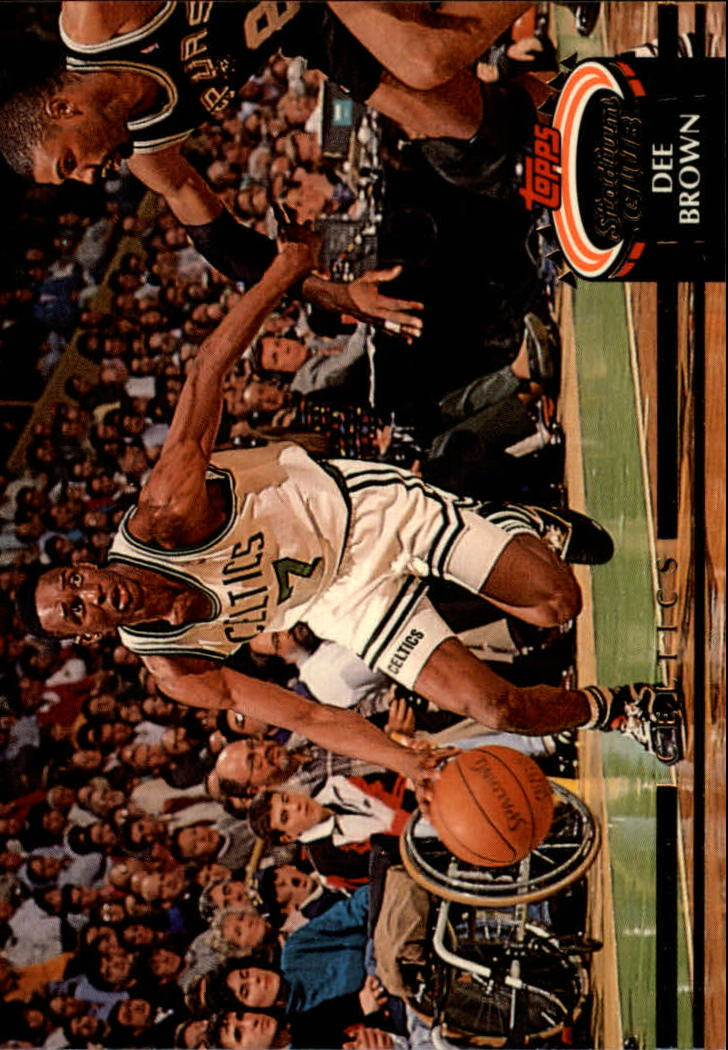1992-93 Stadium Club #168 Dee Brown
