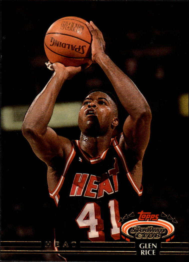 1992-93 Stadium Club #180 Glen Rice
