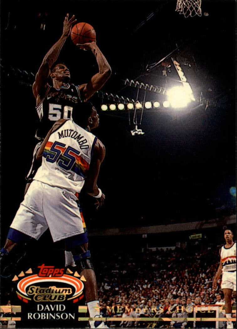1992-93 Stadium Club #191 David Robinson MC