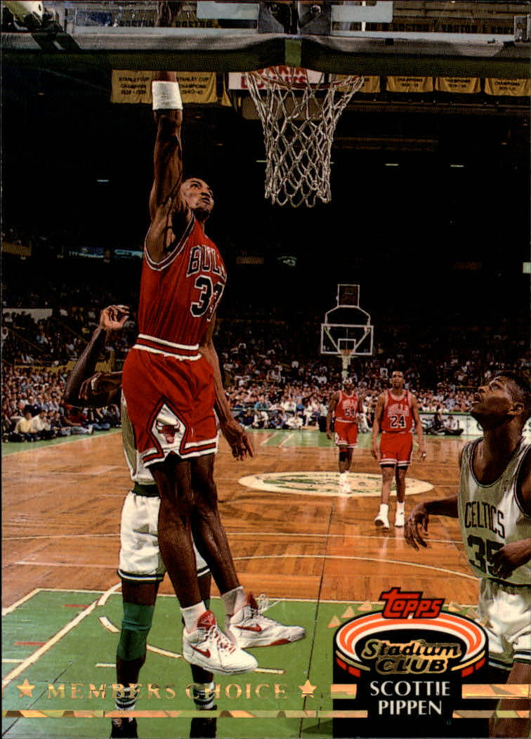 1992-93 Stadium Club #198 Scottie Pippen MC