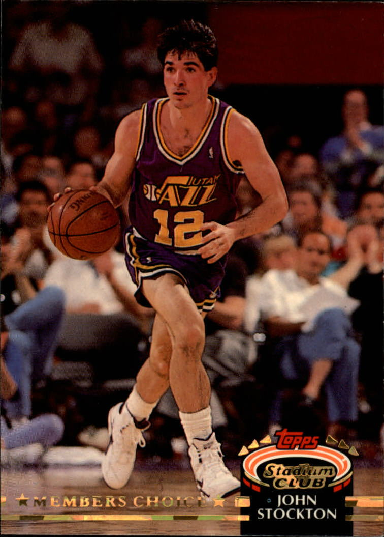 1992-93 Stadium Club #200 John Stockton MC