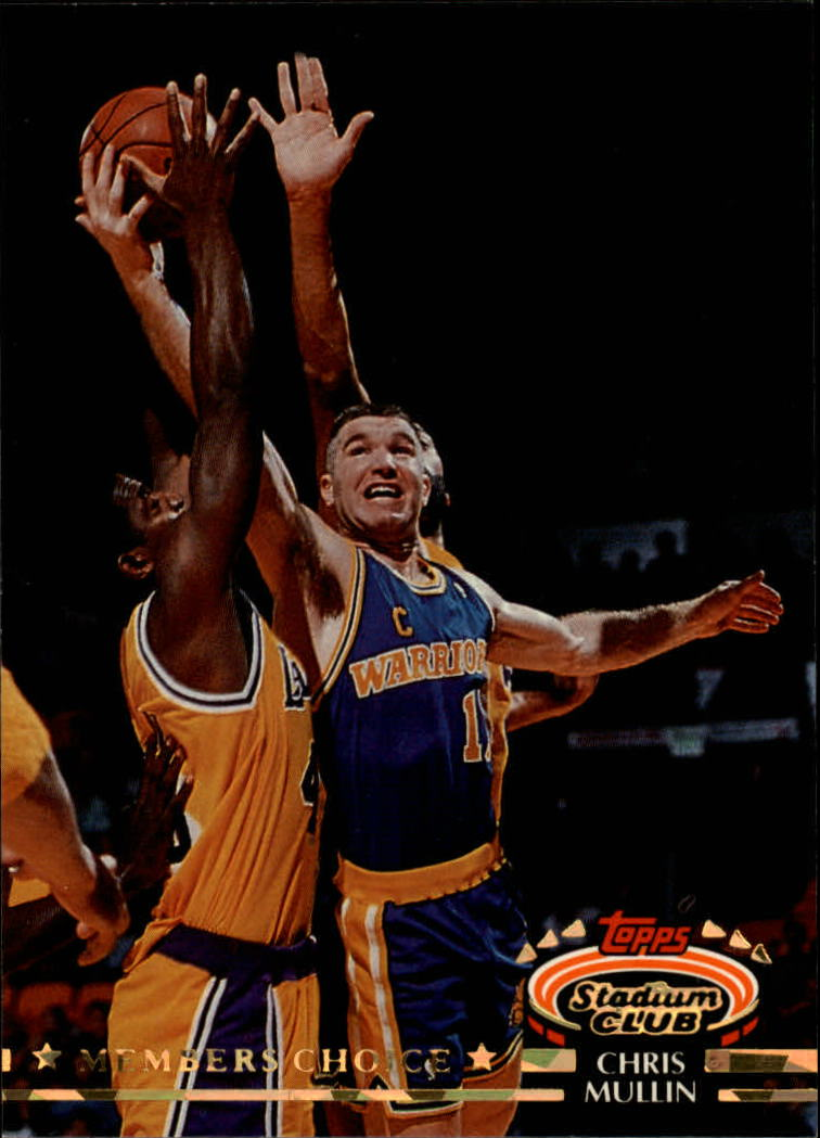 1992-93 Stadium Club #202 Chris Mullin MC