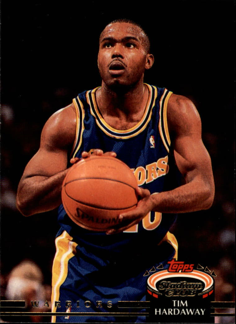 1992-93 Stadium Club #211 Tim Hardaway