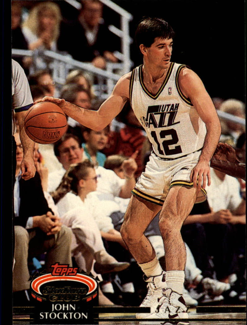 1992-93 Stadium Club #265 John Stockton