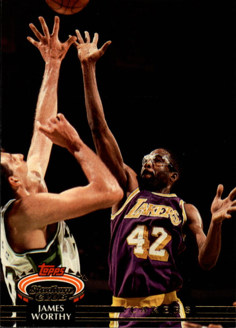 1992-93 Stadium Club #327 James Worthy