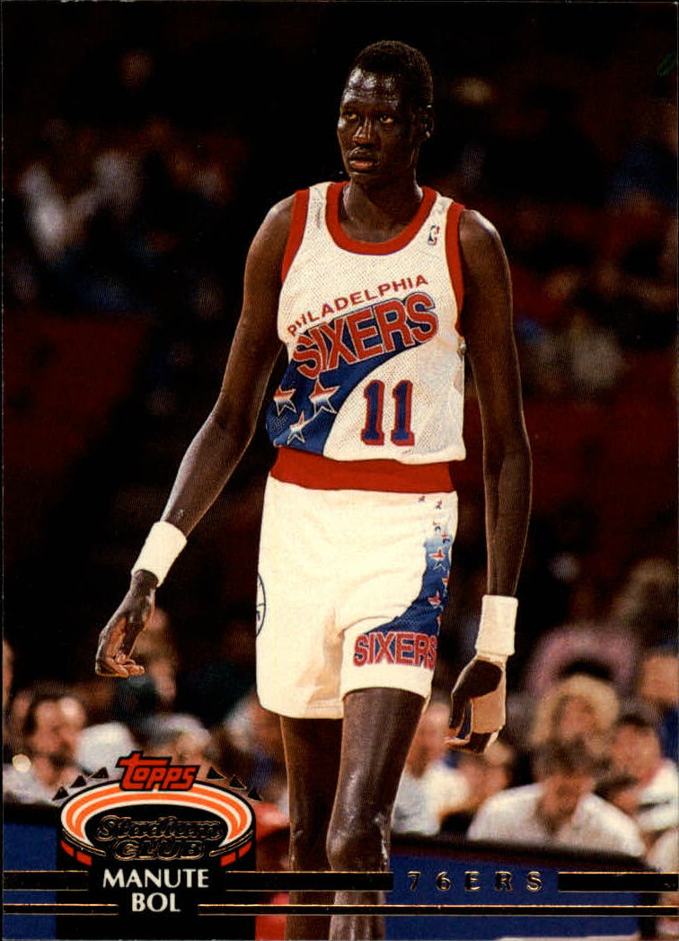 1992-93 Stadium Club #347 Manute Bol