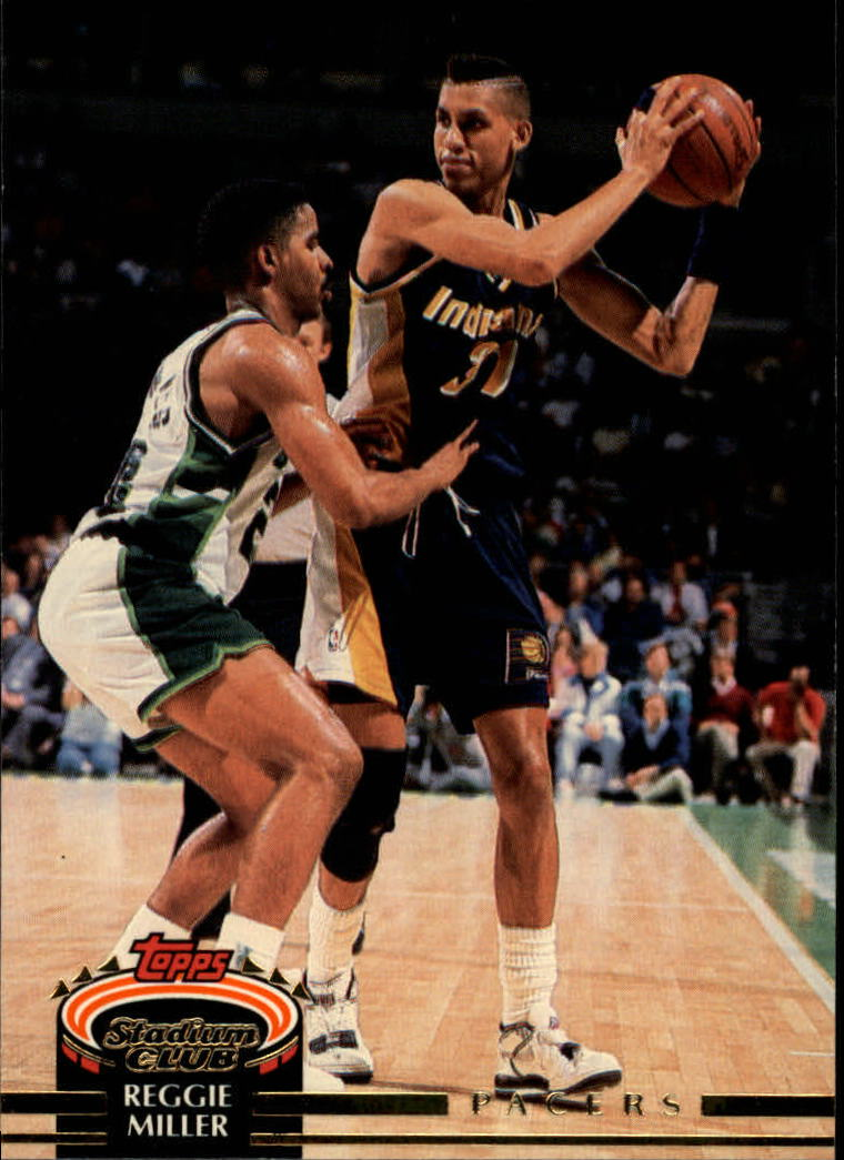 1992-93 Stadium Club #357 Reggie Miller