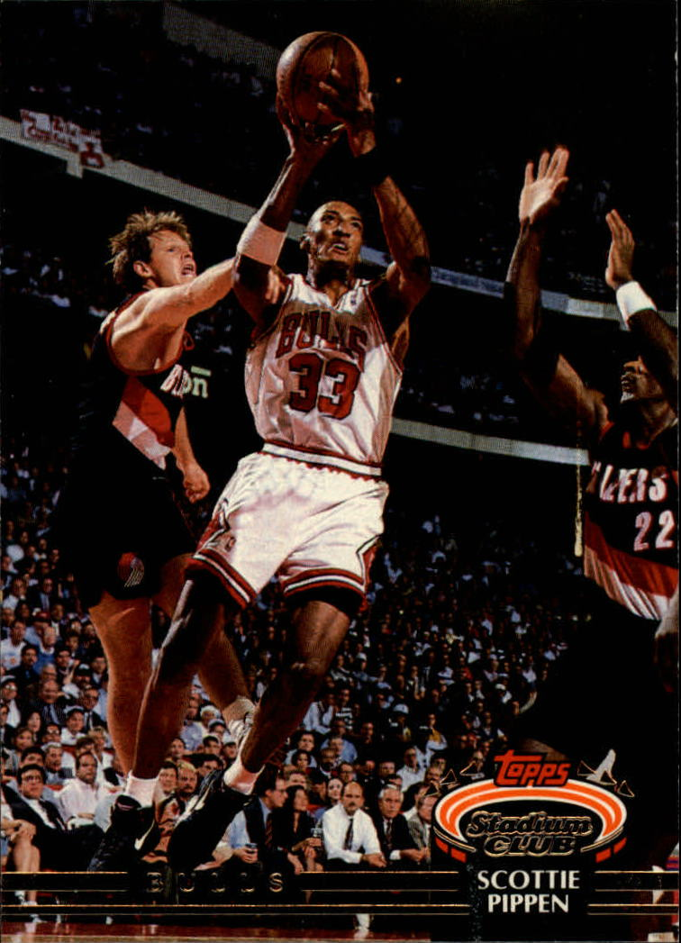 1992-93 Stadium Club #367 Scottie Pippen