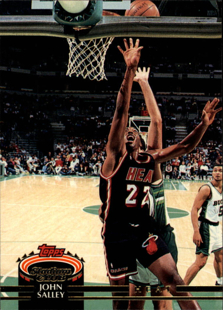 1992-93 Stadium Club #375 John Salley