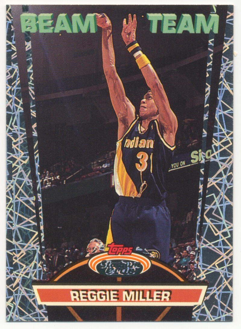1992-93 Stadium Club Beam Team #7 Reggie Miller
