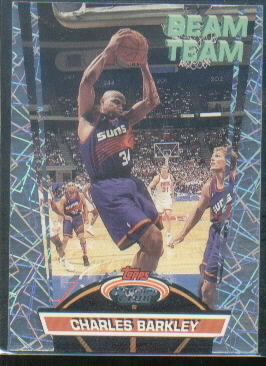 1992-93 Stadium Club Beam Team #15 Charles Barkley