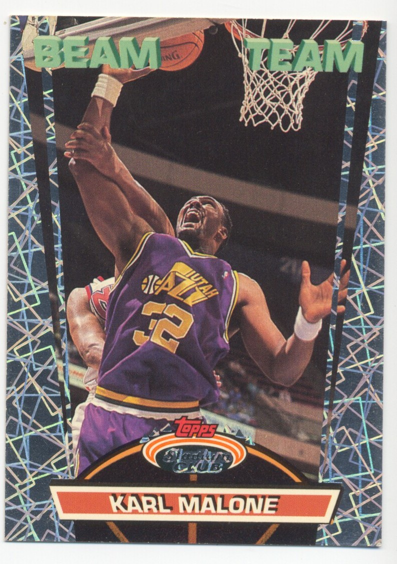 1992-93 Stadium Club Beam Team #17 Karl Malone