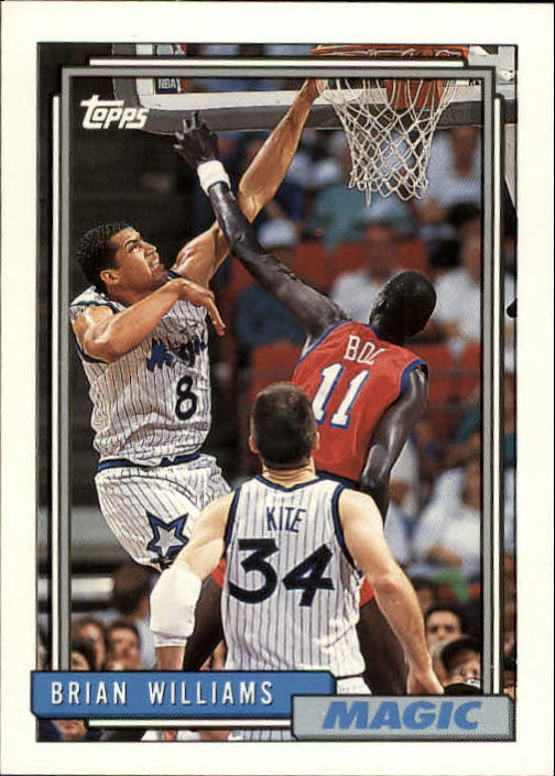 1992-93 Topps #55 Brian Williams